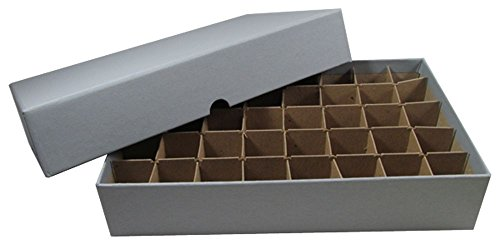Coin Roll Box for 40 Rolls or Tubes of SMALL DOLLARS by Guardhouse from Guardhouse