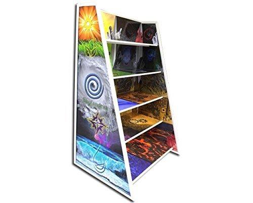 10 element Shelving display great for Skylanders or anything you want to display. by PlayandDisplays