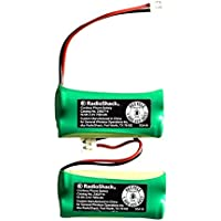 RadioShack VTech 6010 2.4V/700mAh NiMH Cordless Phone Batteries (2-Pack) (2302714)