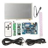 Yongse 7 inch HD HD 1024x600 Touch Screen Display Module Board Kit for Raspberry Pi