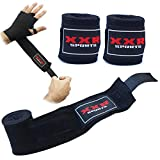 ZOR Boxing Hand Wraps Bandages Martial Art Wrist Fist Wraps MMA Under-Boxing Glove Protective Gear Prevent Injury 2.5 Meter