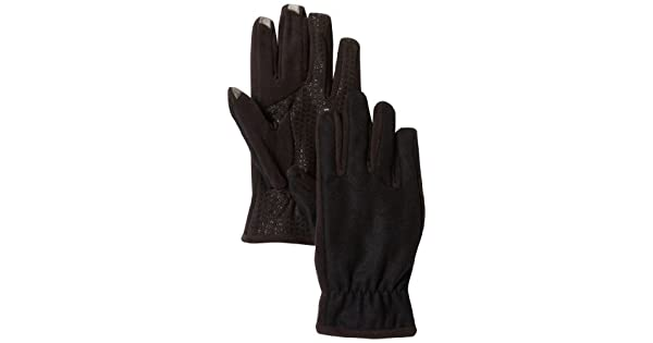 Amazon.com: Isotoner SmarTouch guantes de hombres con ...