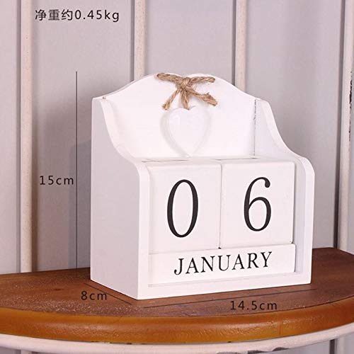 Gold Happy 1PC Decorative Furnishing Calendar