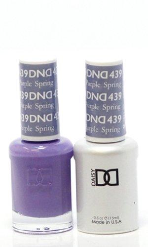 DND *Duo Gel* (Gel & Matching Polish) Spring Set 439 - Purple Spring