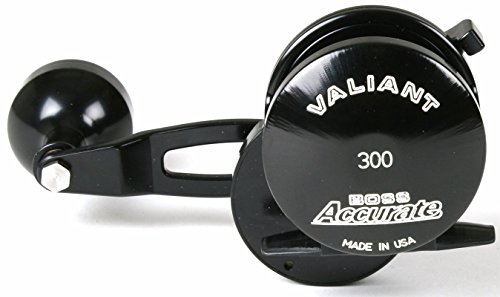 Accurate Boss Valiant BV-400L-B Left Hand Black Conventional Reel