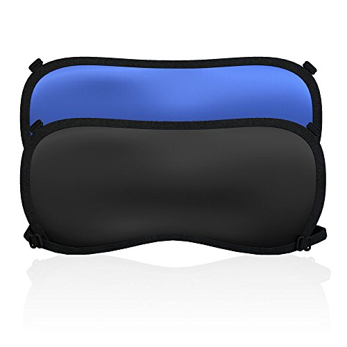KAMOSSA Silk Sleep Mask Adjustable Eye Mask Super Lightweight Sleeping Mask Free Earplugs bags