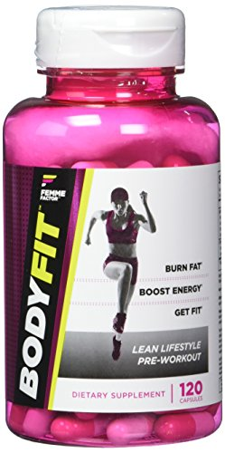 Calories Weight Control - Body Fit Fat Burner for Women with Garcinia, Metabolism Booster, Calorie Burner, Appetite Suppressant, & Energy Weight Loss Pills, Femme Factor, 120ct
