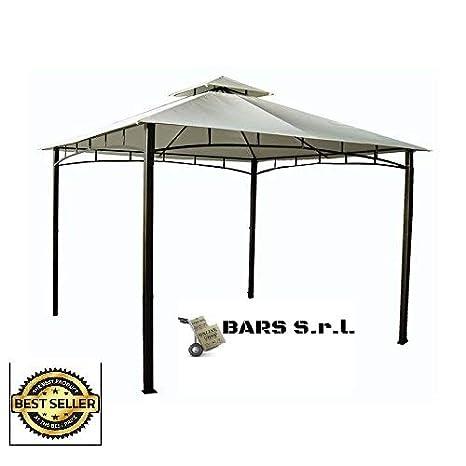Gazebo Giardino 6x6.Bars Easyshop Gazebo Da Giardino 3 X 4 Con Telo Impermeabile
