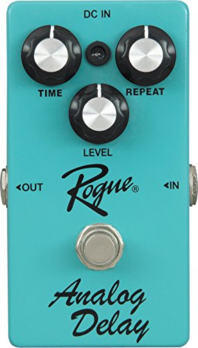 Rogue Analog Delay Guitar Effects Pedal - Best Guitar Delay Pedal