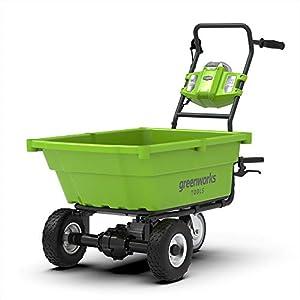 Powered wheelbarrows