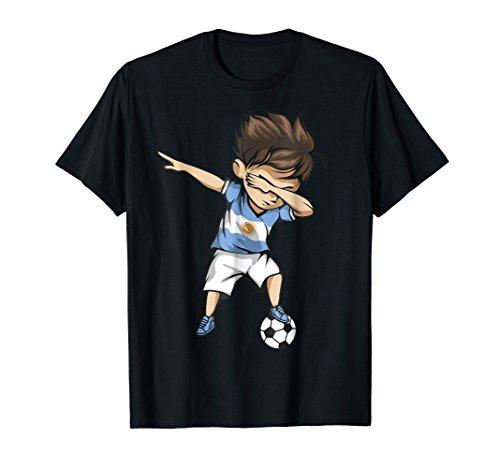 Dabbing Soccer Argentina Jersey Shirt - Argentinian Football