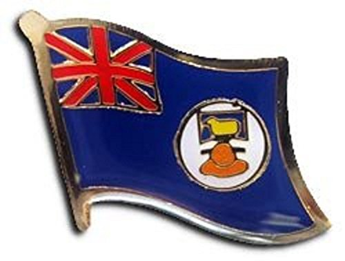 AES Falkland Islands Country Flag Bike Hat Cap Lapel Pin