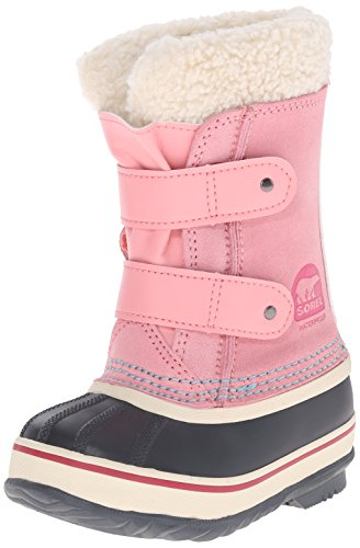 1964 Pac Boot (SOREL 1964 Pac Strap CO PI Cold Weather Boot (Toddler/Little Kid), Coral Pink, 4 M US Toddler)