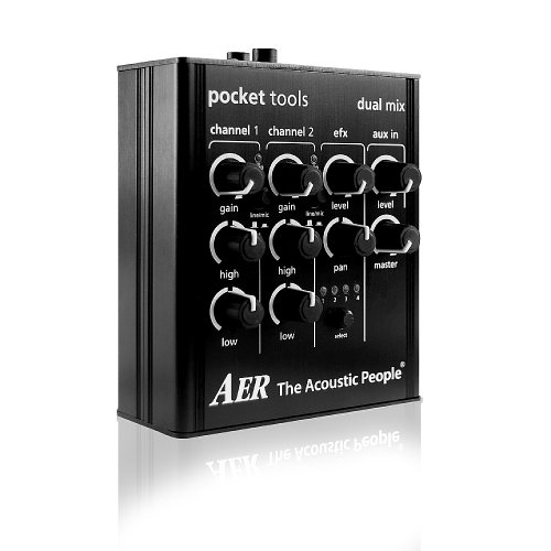 AER DUAL-MIX 2-CHANNEL PRE-AMP/ - Small Channel Mixer