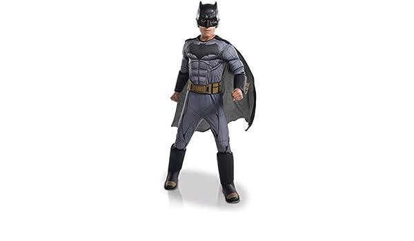 Disfraz lujo Batman - Liga de la Justicia niño 3-4 años (98/104): Amazon.es: Juguetes y juegos