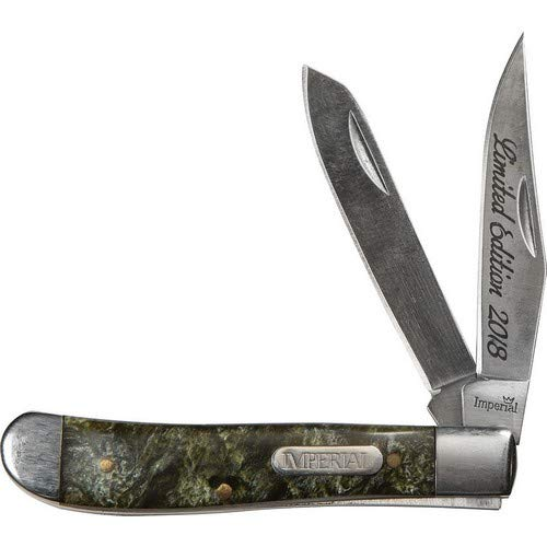 - Schrade Knives P1085941 Imperial Trapper Knife with Synthetic Handle