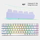 New 60% Mechanical Keyboard, RGB LED Backlit Wired