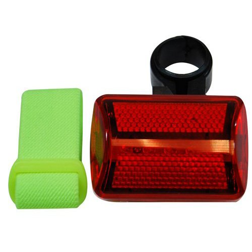 Universal 7 Function 5 LED Bicycle Safety Flasher w//Bike Attachment /& Arm Strap