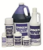 Layout Fluids, 8 oz Brush-In-Cap, Blue (12 Pack)