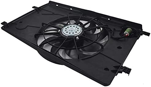 AC Condenser Radiator New Cooling Fan Fits 11-16 Chevy for Cruze 1.4L l4