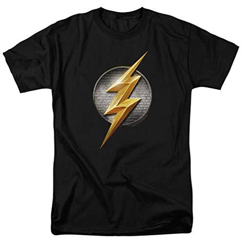(Justice League The Flash Logo DC Comics T Shirt)