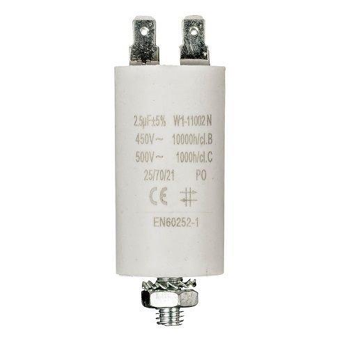 Cablepelado Condensateur de d/émarrage pour moteur /électrique 2.5/UF 450/VAC