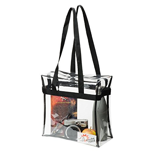Standard NFL Stadium Approved Clear Tote Bag 12