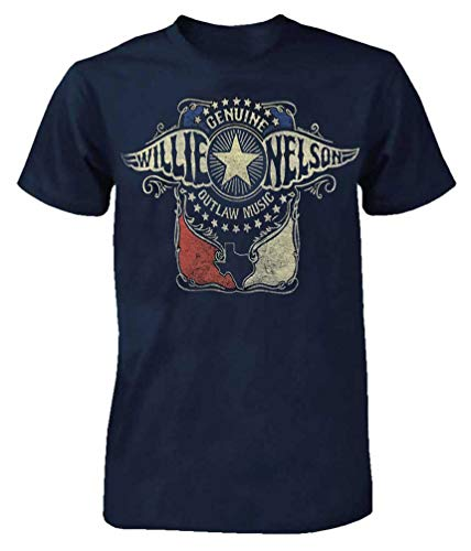 Willie Nelson Halloween (Willie Nelson Outlaw Wings T-Shirt Tee Rock n Roll Bands Tour Country CMA)