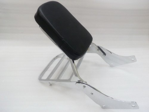 XFMT Backrest Sissy Bar Set W/ Luggage Rack Compatible with Honda Shadow SABRE 1100 ACE VT1100
