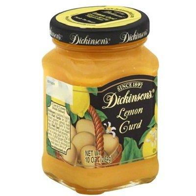 Dickinson's Lemon Curd, 10-Ounce (Pack of 6)
