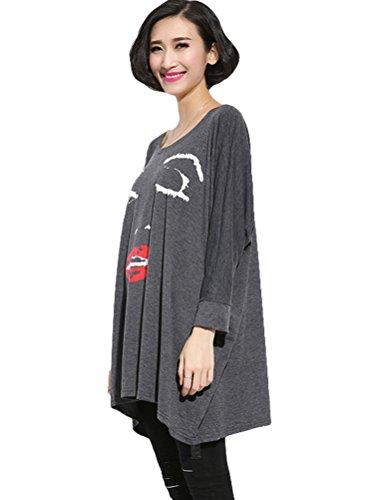 MatchLife - Camiseta - para mujer Style3-Grey