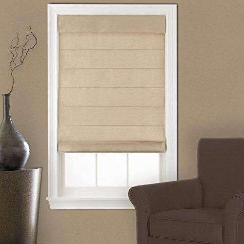 Window Blind Store Supreme Cordless Roman Shade Linen 36x64