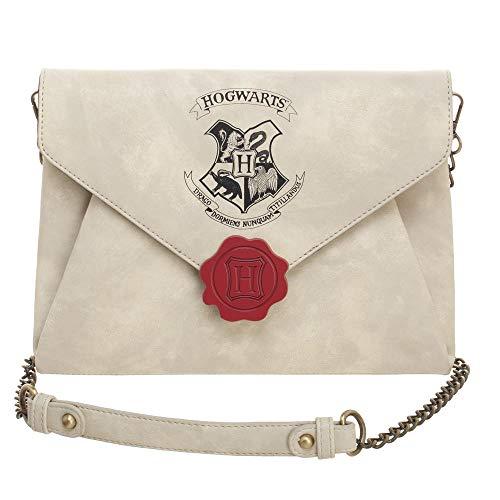Harry Potter Letter Envelope to Hogwarts Clutch Purse ()