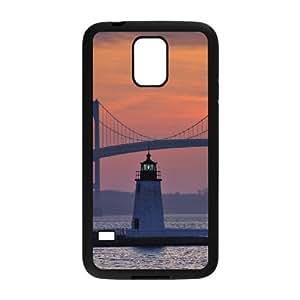 Lighthouse Custom Cover Case for SamSung Galaxy S5 I9600,diy phone case ygtg544174