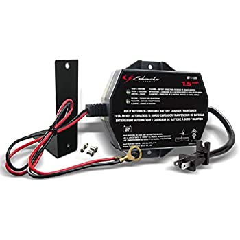 Schumacher SC1300 1.5A 6/12V Fully Automatic Battery Maintainer on