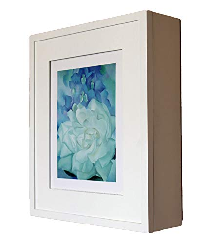 - Contemporary White Picture Perfect Medicine Cabinet, a wall-mount picture frame medicine cabinet without mirror - Available in Black, Coffee Bean, Caramel, more!
