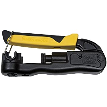 Compression Crimper, Wire Crimper and Coaxial Crimper for Indoor and Outdoor Cabling Klein Tools VDV211-063