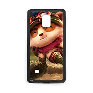 League Of Legends Teemo Samsung Galaxy Note 4 Cell Phone Case Black Phone Accessories JV255570