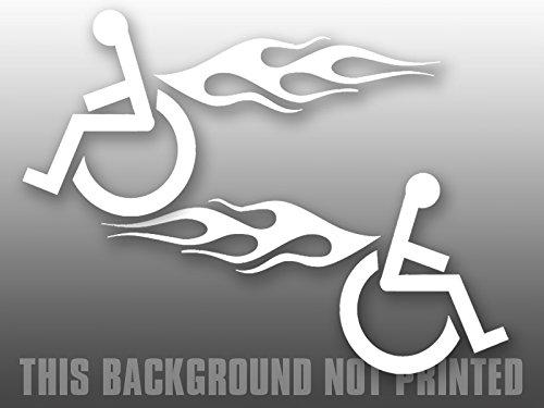 wheelchair bumper sticker - 1