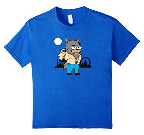 Single Girl Halloween Costume Ideas (Kids Werewolf Transformation Popular Halloween Costume Idea 10 Royal Blue)