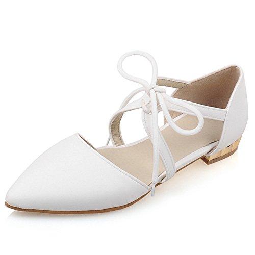 Fashion Heel - zapato con cordones mujer blanco