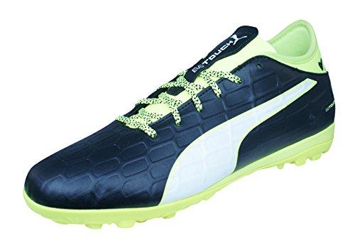 Puma evoTOUCH 3 TT Mens Astro Turf Soccer Sneakers-Black-9.5