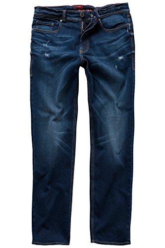 JP 1880 Homme Grandes tailles Jeans - Droit - Homme - Straight Fit - Ultra Stretch - Pantalon Denim bleu foncé 54 708369 93-54