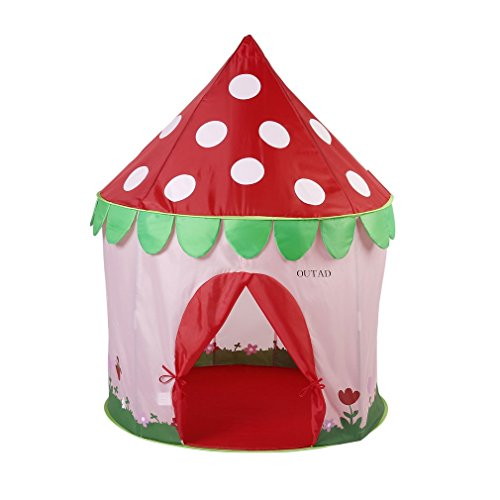 OUTAD Princess Castle Kids Play Tent Foldable and Ventila...