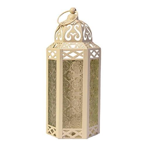 Vela Lanterns Mid-Size Table/Hanging Glass Hexagon big image