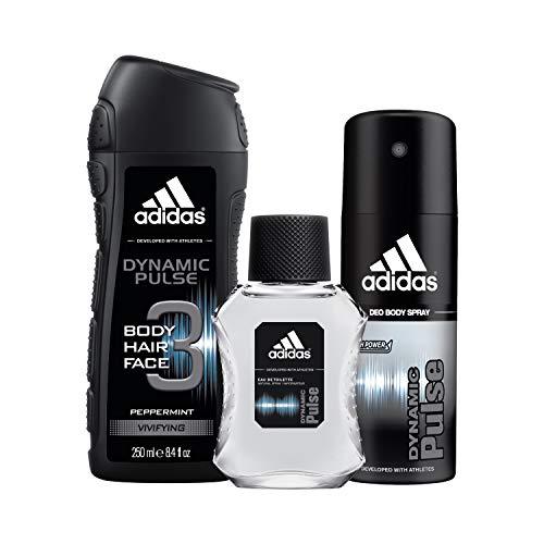adidas Dynamic Pulse 3 Piece Gift Set