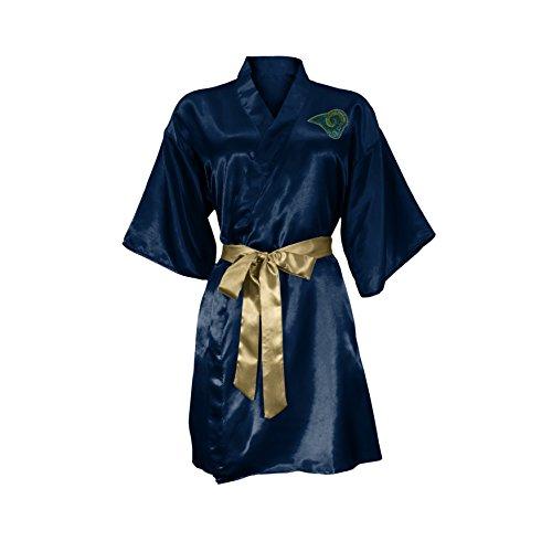 brand new f6ae1 be5c4 NFL St. Louis Rams Satin Kimono, Large XL