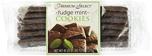 Premium Select Chocolate Fudge Mint Cookies In Decorative Box  2 Pounds 13 Ounces