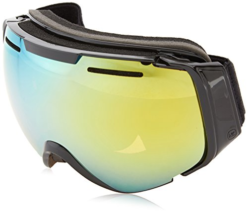 VonZipper El Kabong Goggles, Black Gloss, Gold Chrome - Kabong El Goggles
