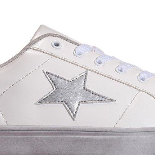 Vero Moda Damessneakers Zwart 6 Wit